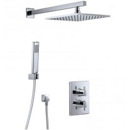HSK Shower-Set 3.04 ECKIG Unterputz-Brausearmatur