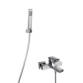 HSK Shower-Set 3.09 ECKIG, Wannenfüll- und Brausearmatur