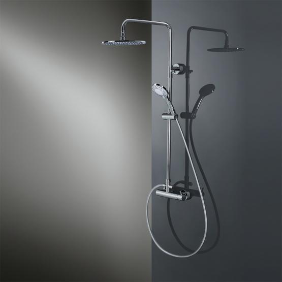 HSK Shower-Set RS 200 AquaSwitch Mix mit Einhebelmischer